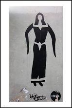 Pochoirs I - Schwarze Madonna von Blek