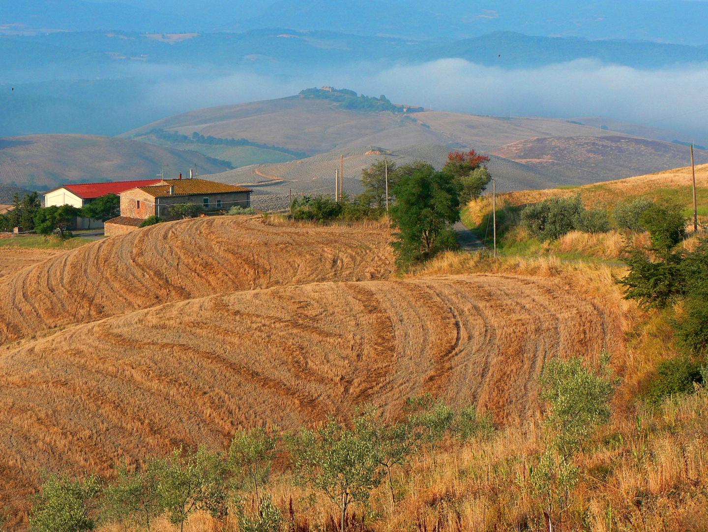 Podere, Volterra, Toskana