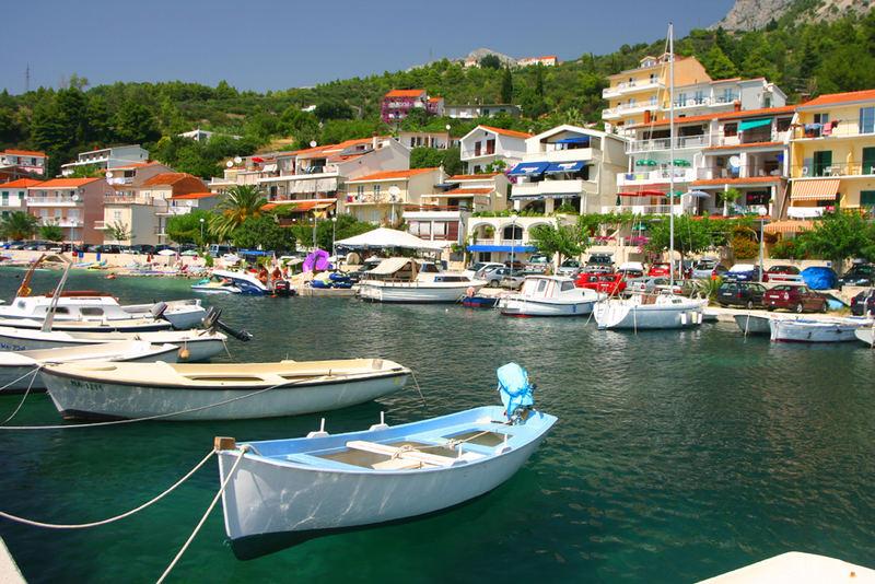 Podgora-Caklje - The Port