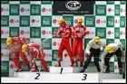 Podium WTCC Magny-Cours
