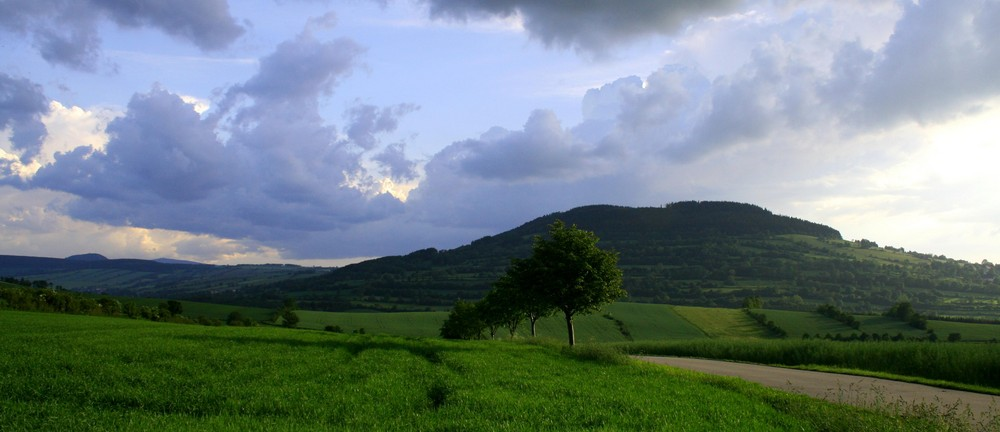 Pöhlbergblick im Erzgebirge