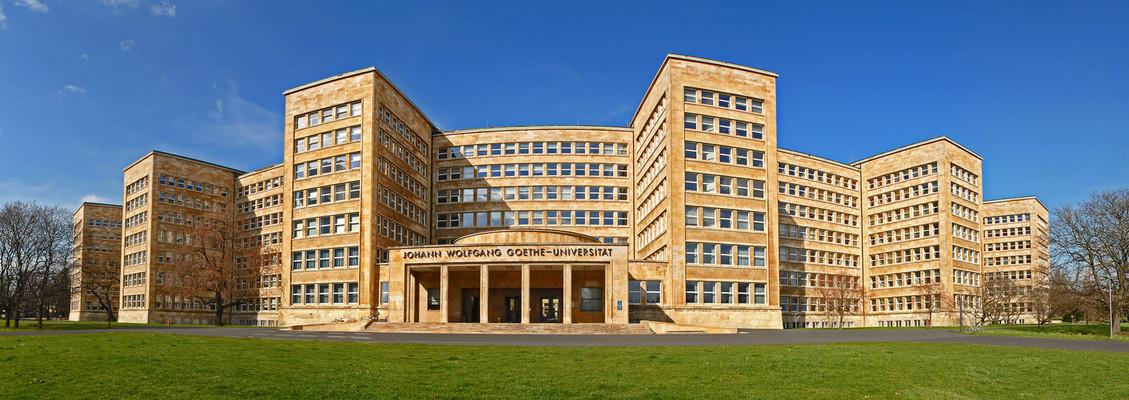 Poelzig-Bau oder I.G. Farben-Haus oder Campus West Universität-Frankfurt/M.