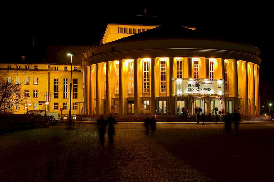 Poesie im Staatstheater