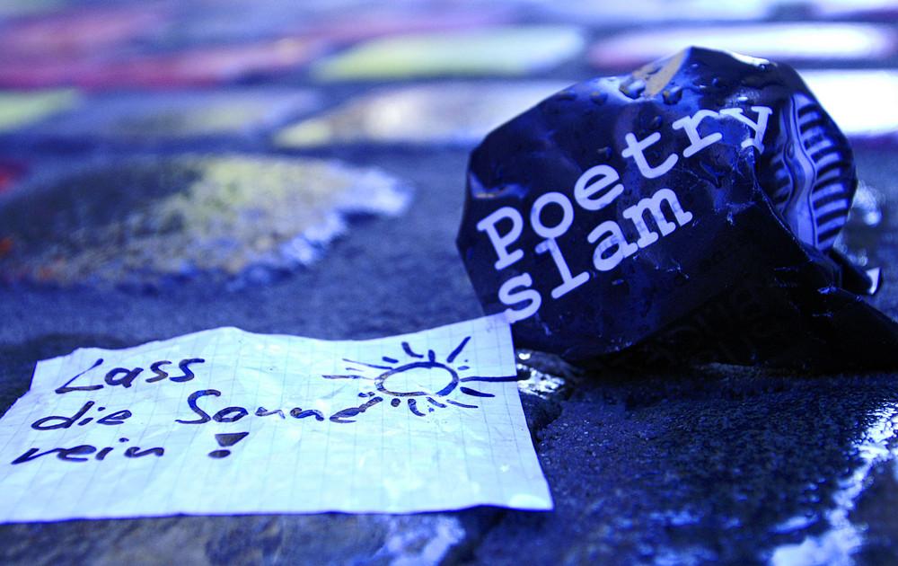 """Poetry Slam Passau """"Lass die Sonne rein"""""""