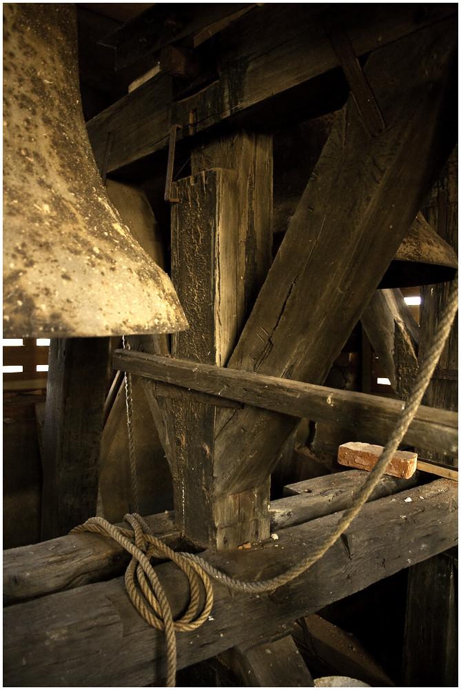 Pötzschau Dorfkirche - Glockenstuhl