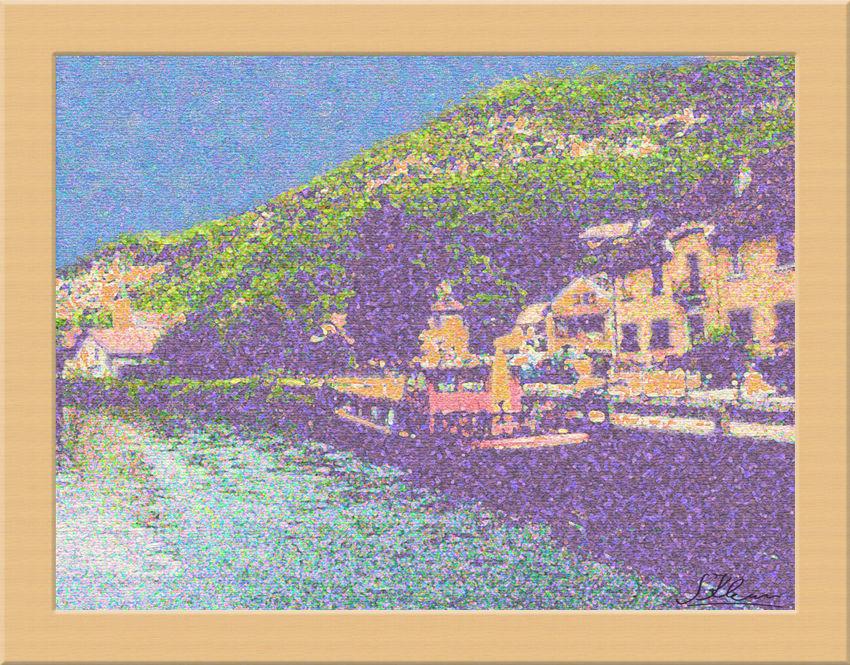 pointilliste ou impressioniste? ;-) Exo commun n°144