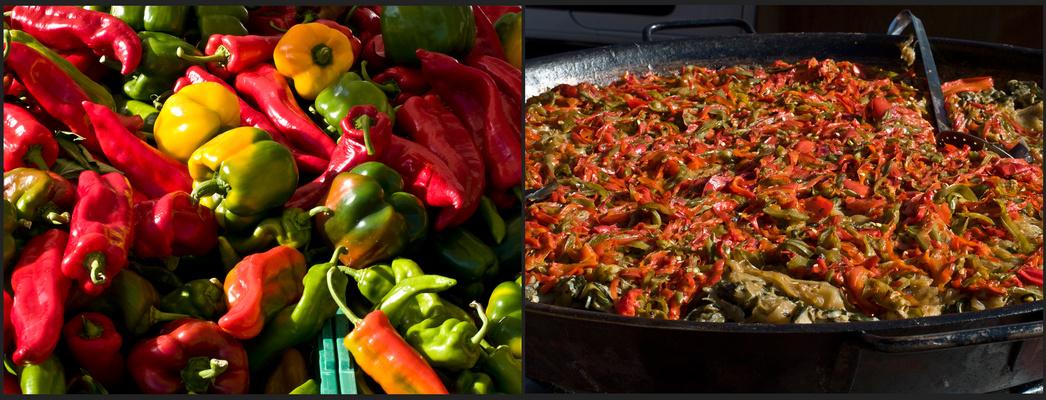 Poivrons avant…et après…!  --  Paprika vorher…und nachher…!