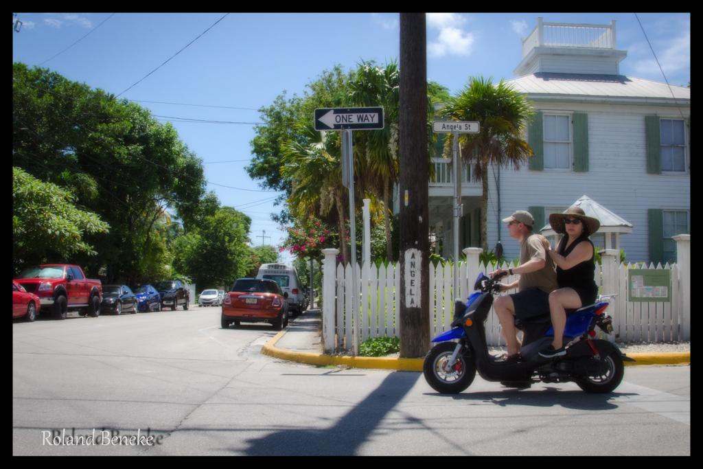 Poker Run in Key West