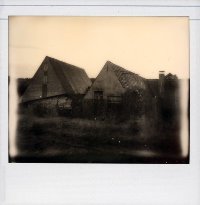 Polariod: Alter Bauernhof