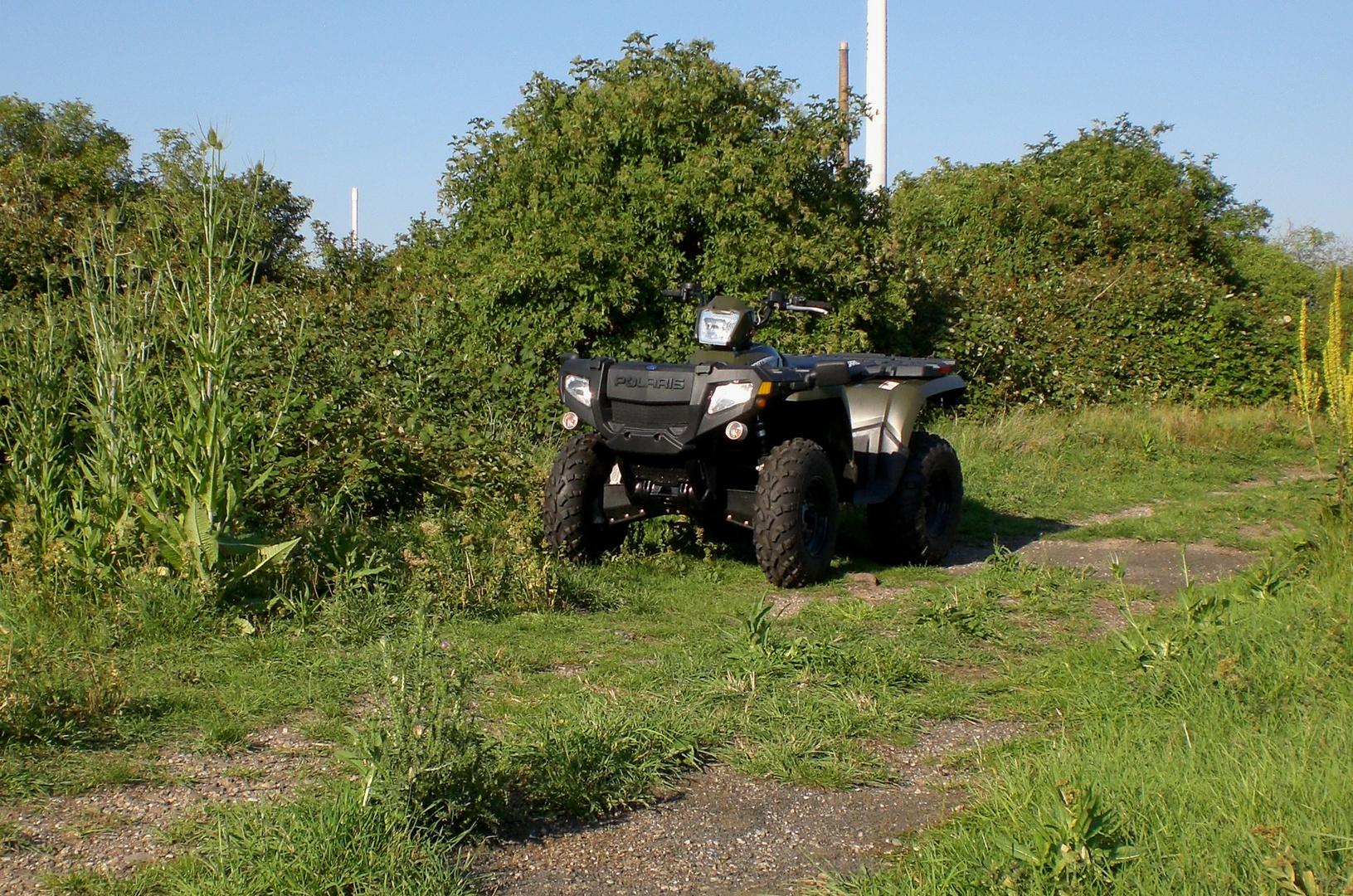 Polaris ATV auf der Insel