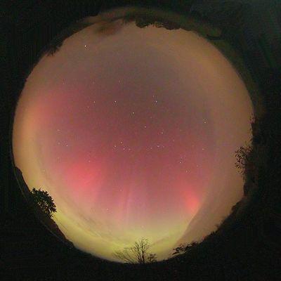 Polarlicht am 29.10.2003