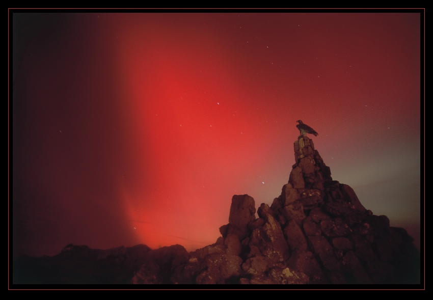 Polarlicht an der Wasserkuppe