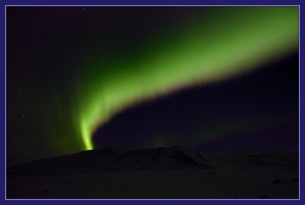 Polarlicht bei Cunojavri 1