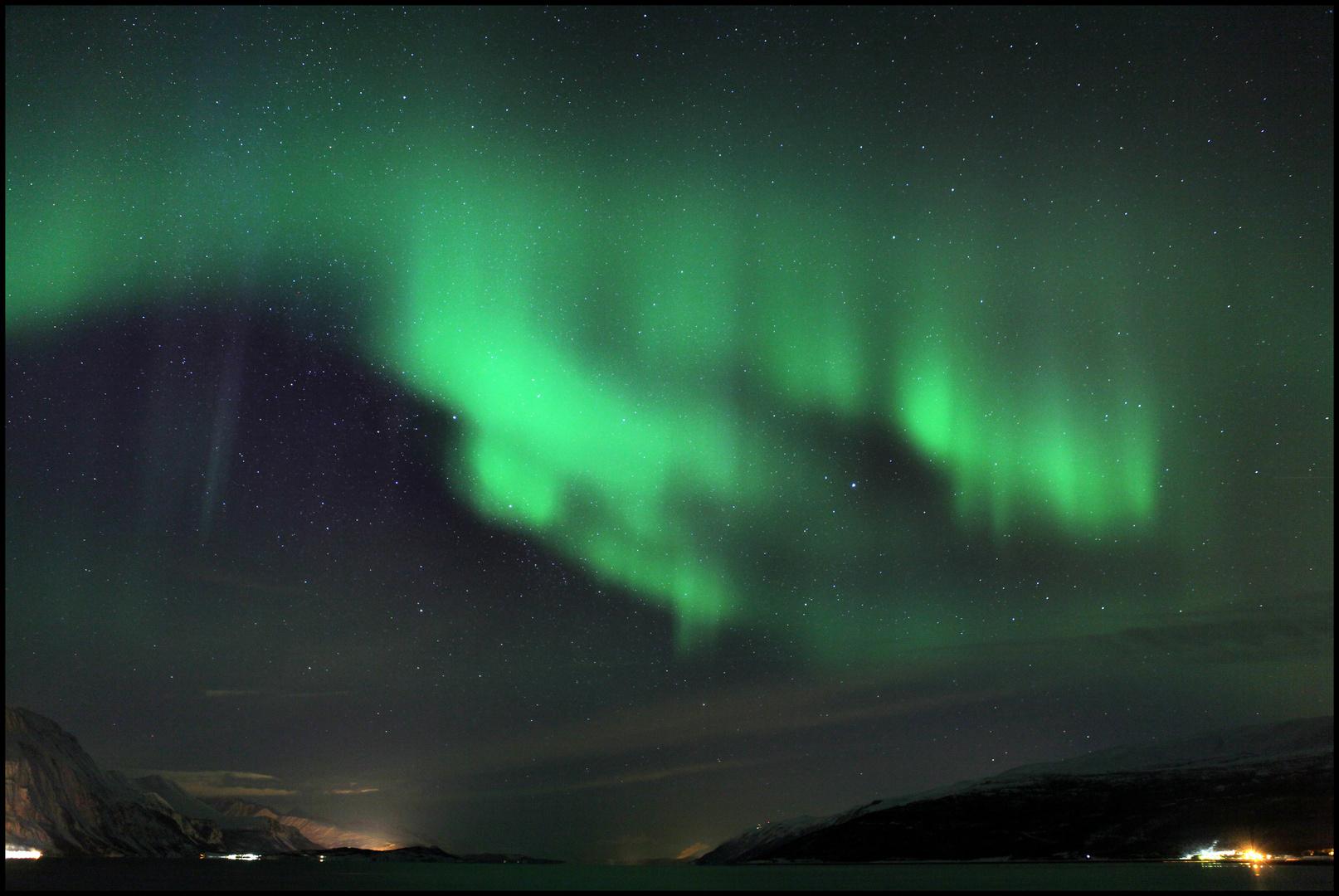 Polarlicht bei Skibotn