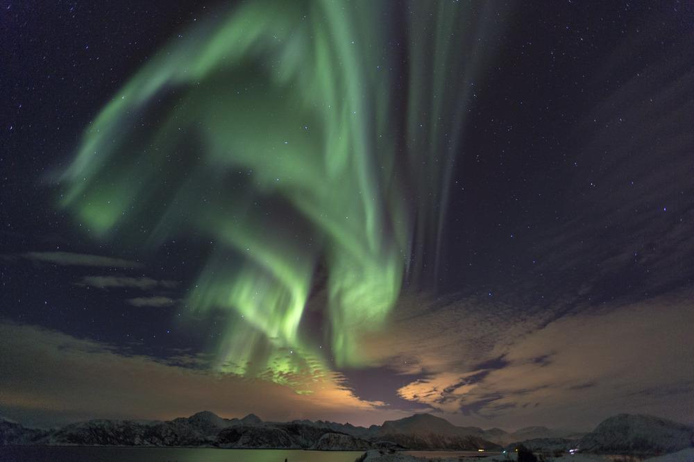 Polarlicht bei Sommaroy