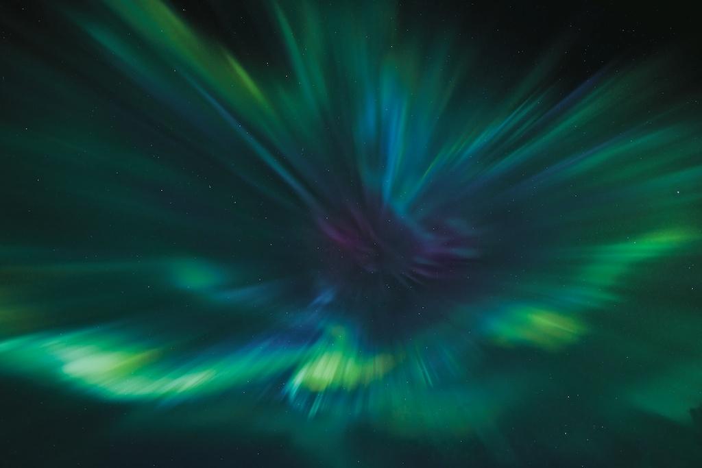 Polarlicht Corona