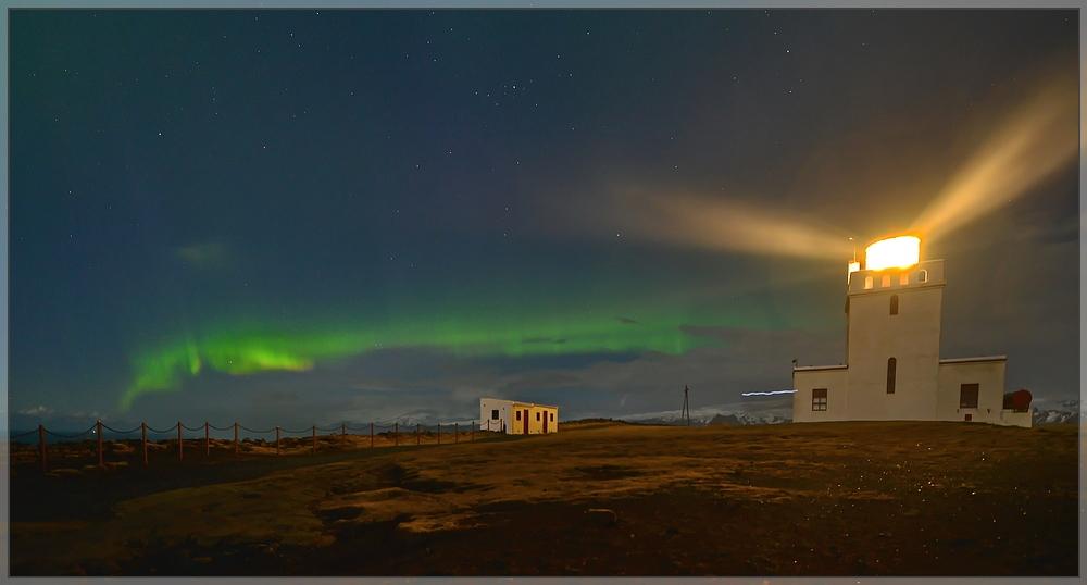 Polarlicht in Island (1/2)