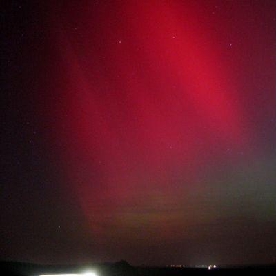 Polarlicht in Sachsen