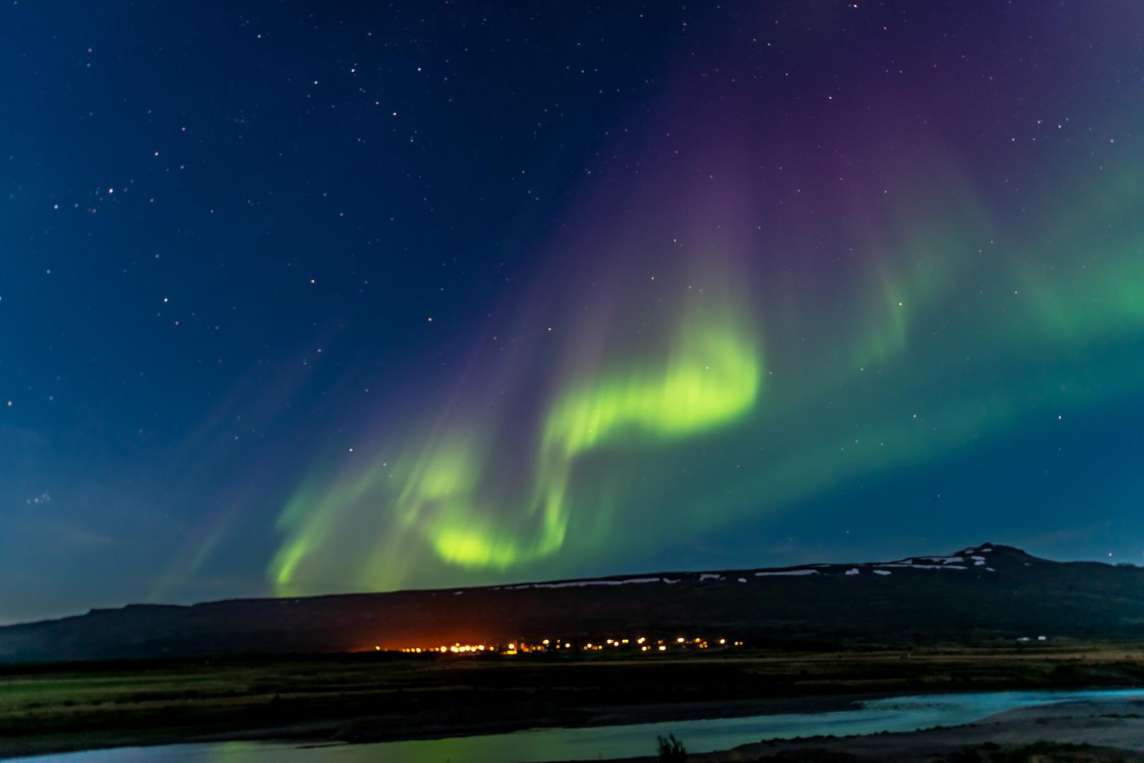 Polarlicht Island 4