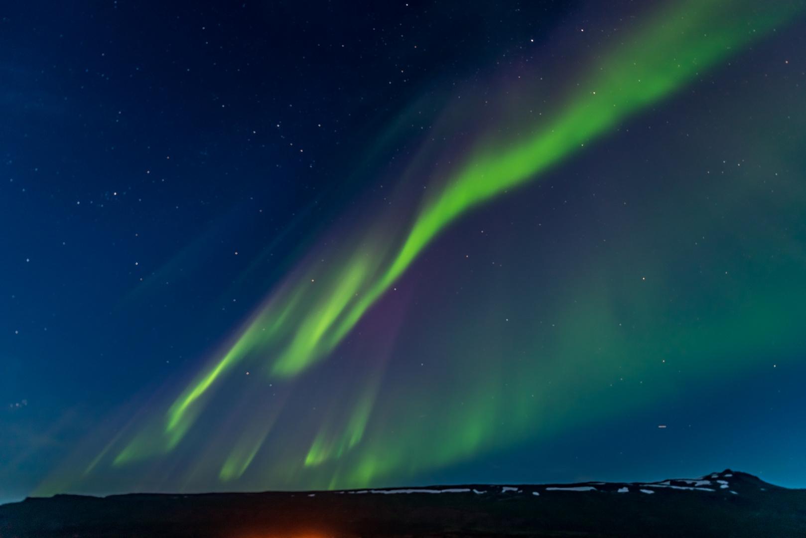 Polarlicht Island 5