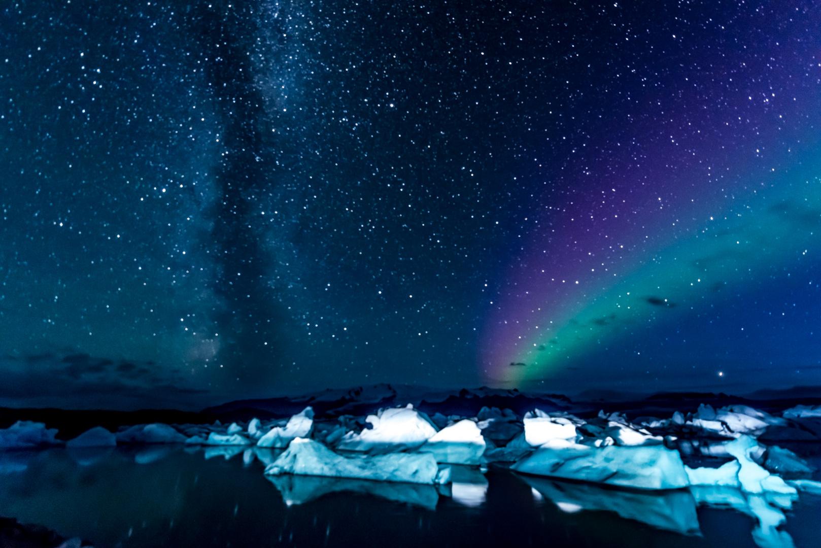 Polarlicht Island 6