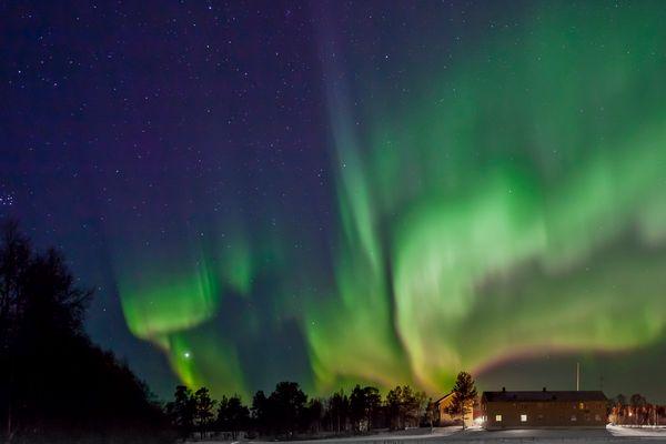 Polarlicht Nordnorwegen