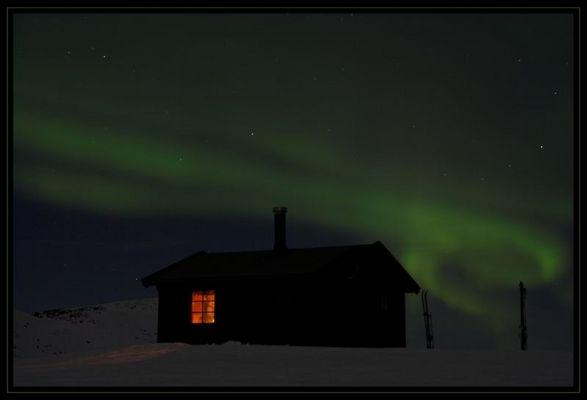 Polarlicht über Caihnavaggi