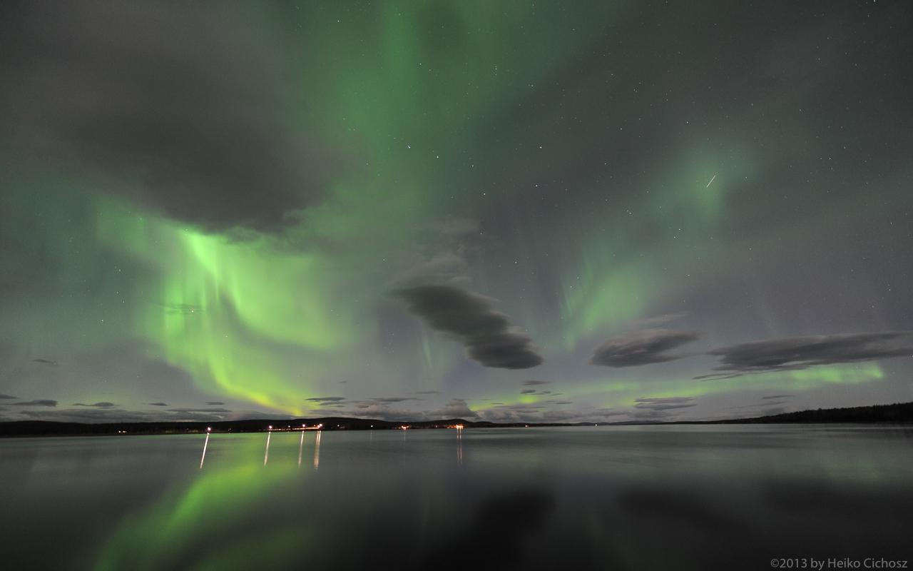Polarlicht über Lappland