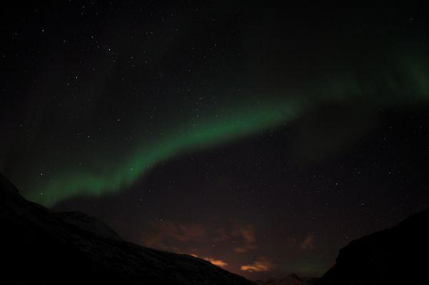 Polarlicht über Narvik