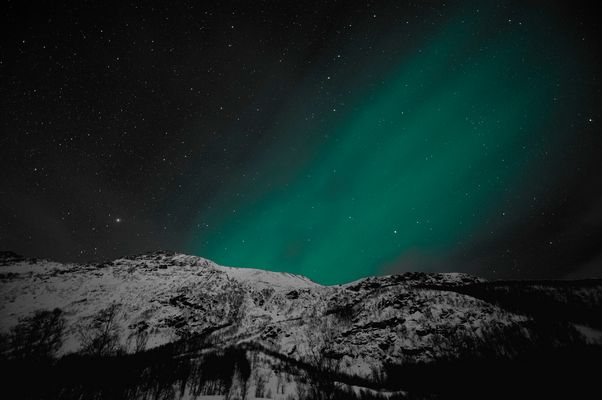 Polarlicht über Troms / Norwegen 2
