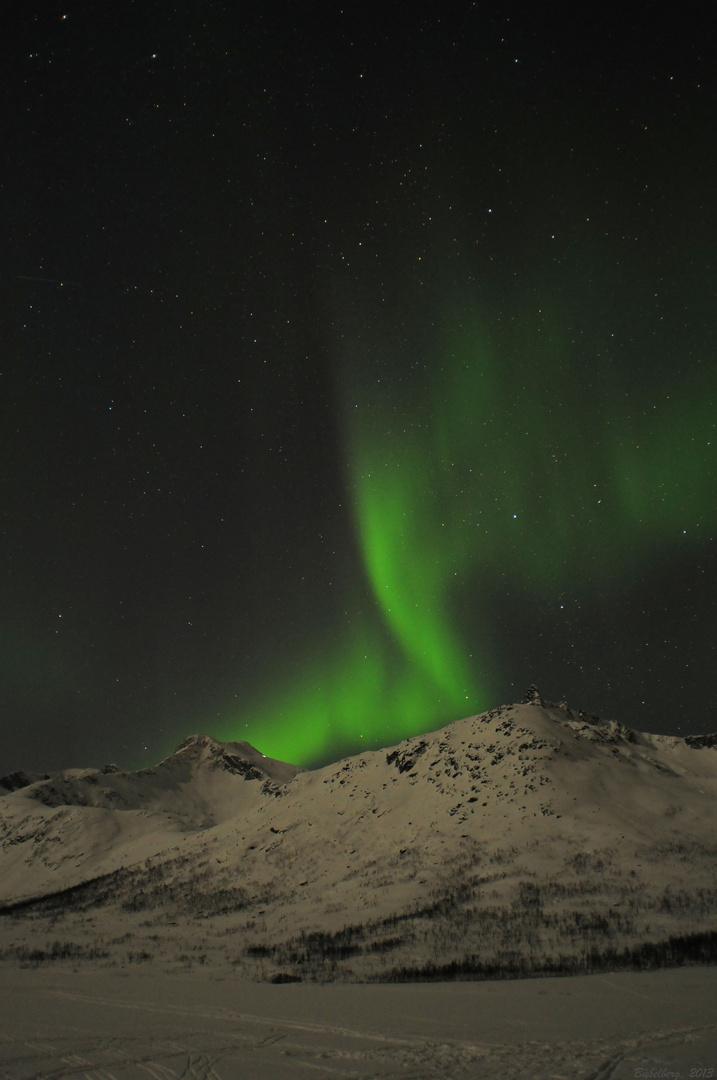 Polarlichter-Tanz