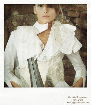 Polaroid 1 vom Fashionshoot