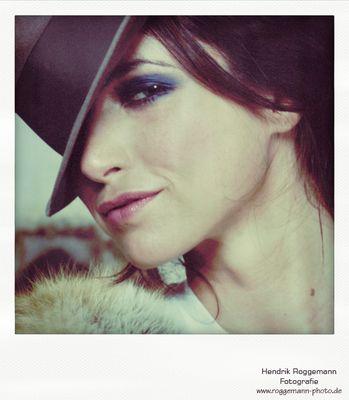 Polaroid 2 vom Fashionshoot