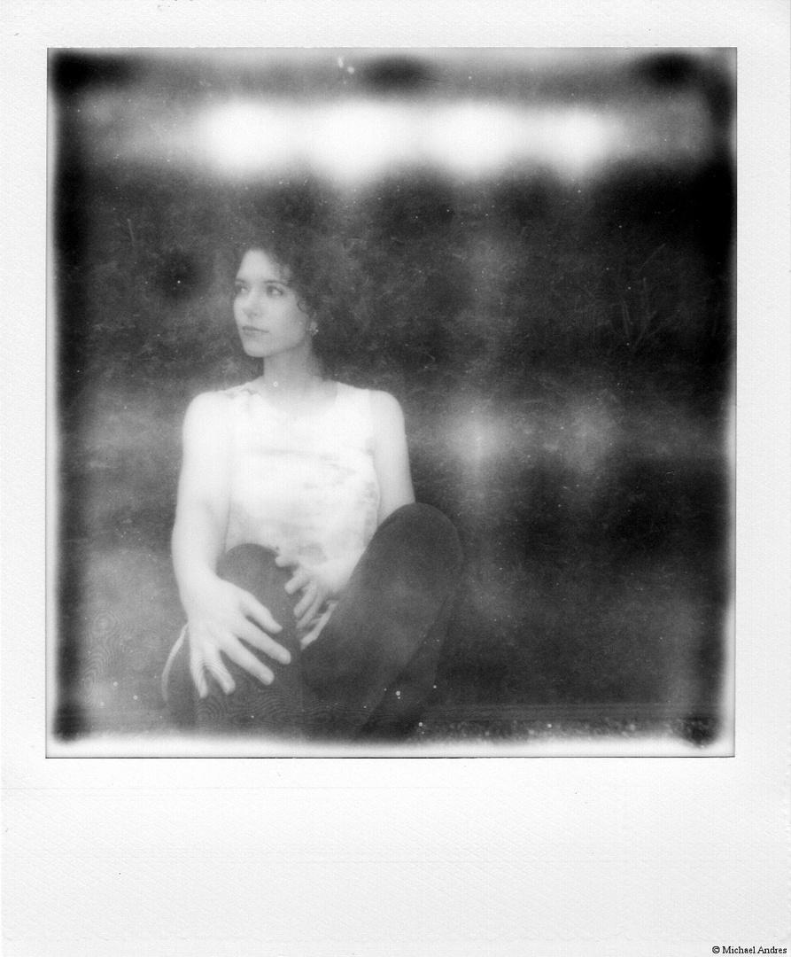Polaroid schwarz/weiss