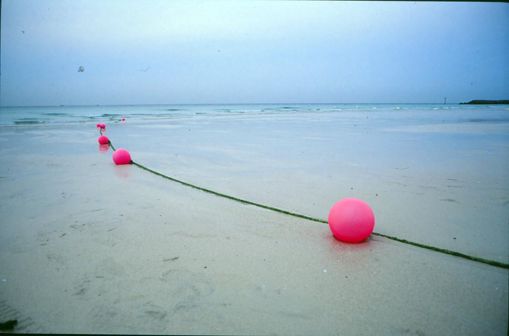 Polder am Strand