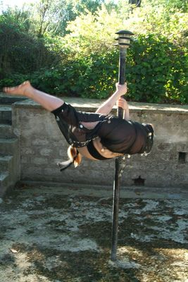 Pole dance everywhere!
