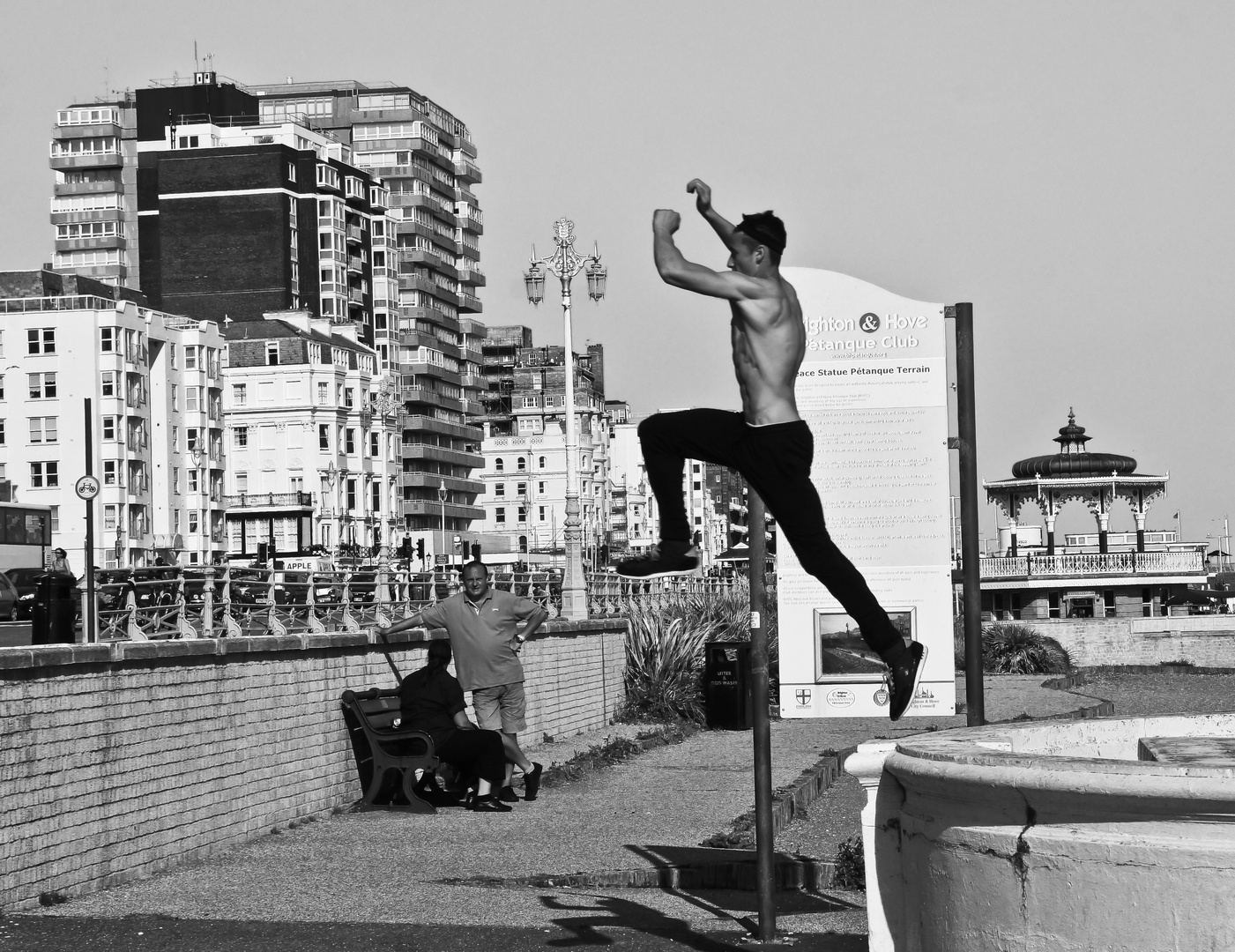 Pole jumpler?