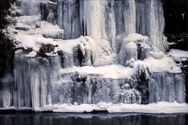 Polenztal im Winter