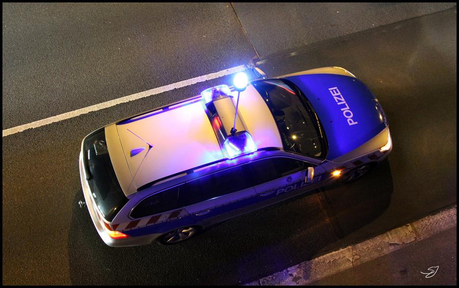 POLICE Berlin BMW