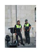 Policia anticuada