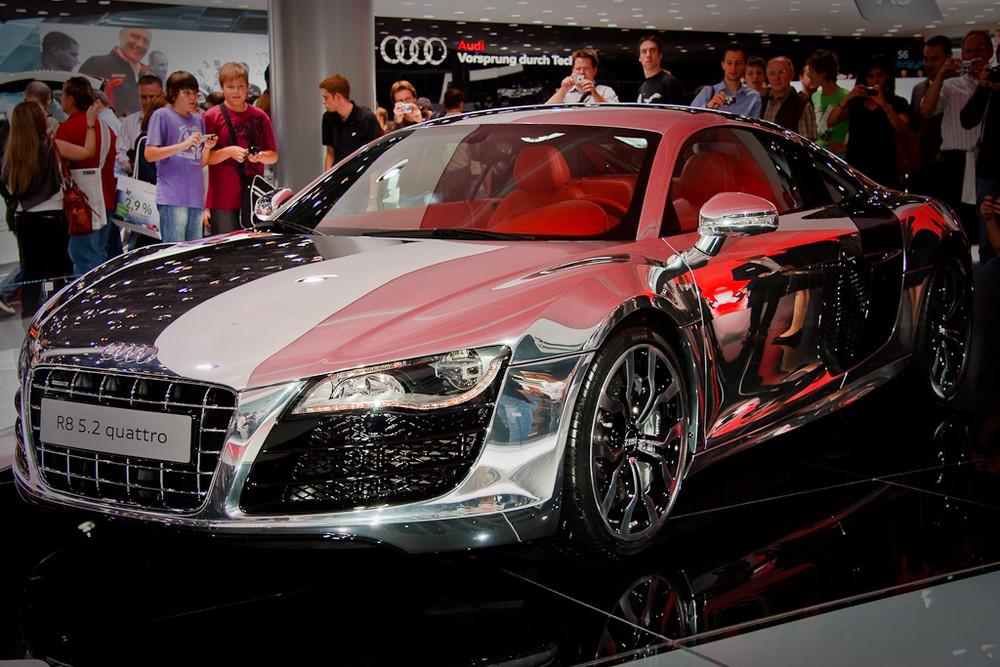 Polierter Audi RS8