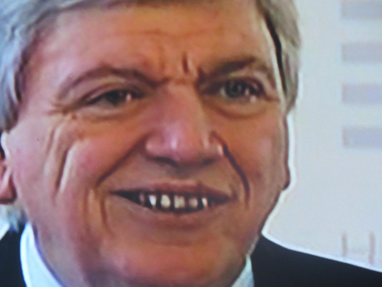 Politiker-Gesicht