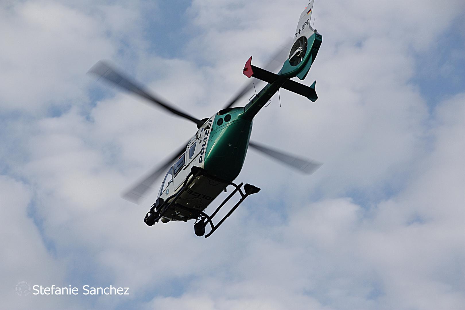 Polizei Hubschrauber EC135 Augsburg
