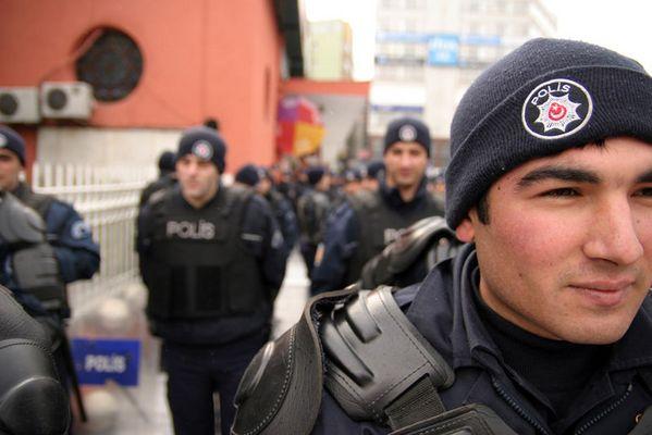 Polizei in Istanbul