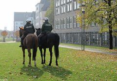 Polizei mit wenig PS