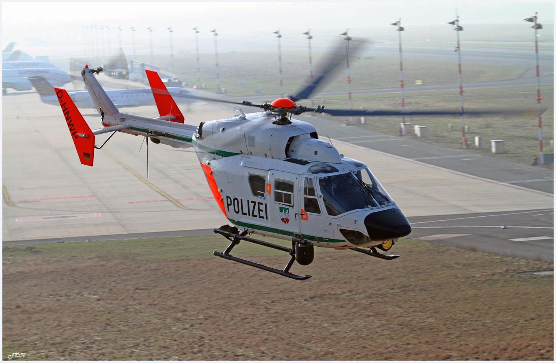 Polizei NRW Eurocopter BK-117 C1