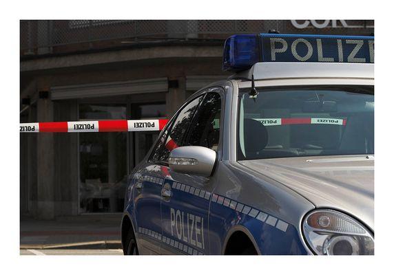 Polizeiauto-Detail