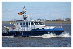 Polizeiboot in Wichhafen