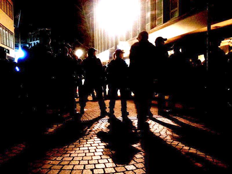 Polizeikessel