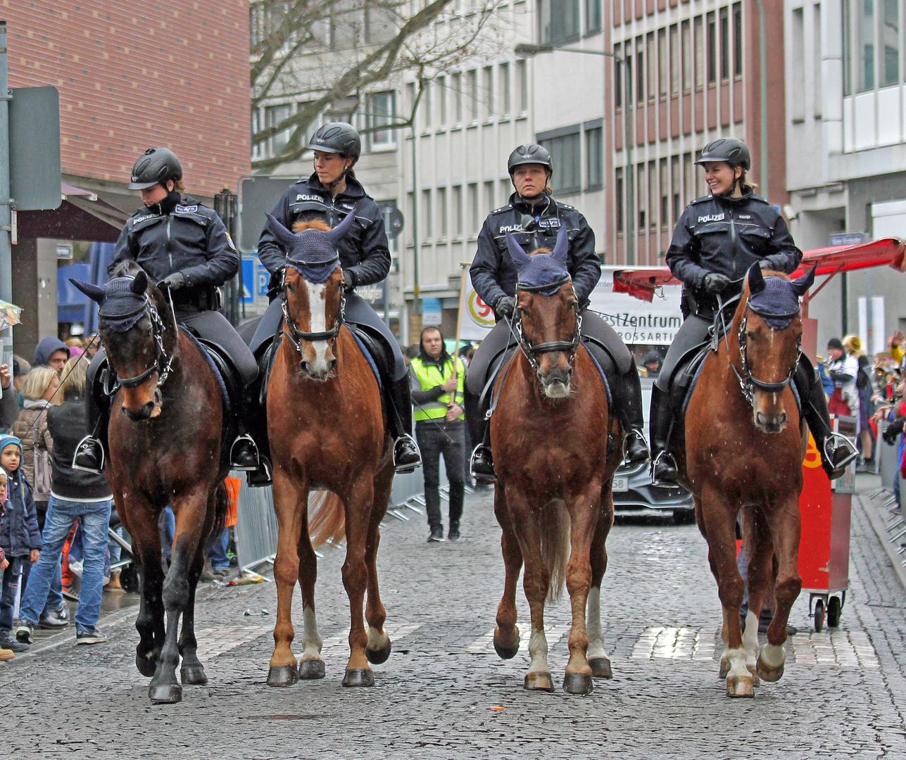 Polizeireiterstaffel